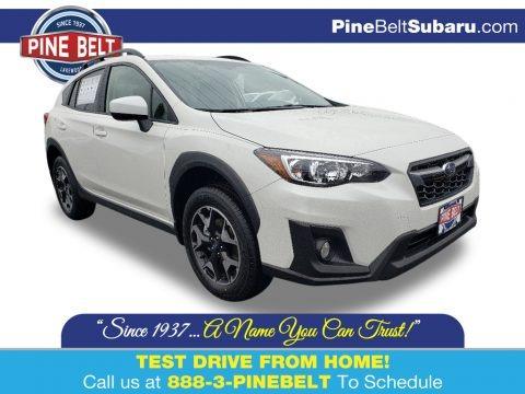 Crystal White Pearl 2020 Subaru Crosstrek 2.0 Premium