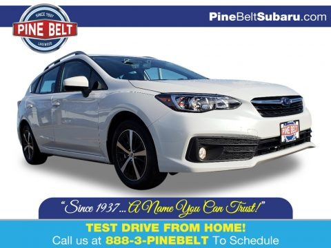 Crystal White Pearl 2020 Subaru Impreza Premium 5-Door