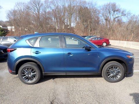 Eternal Blue Mica 2020 Mazda CX-5 Sport AWD