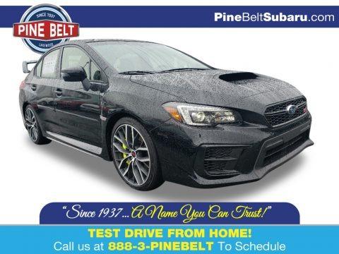 Crystal Black Silica 2020 Subaru WRX STI Limited