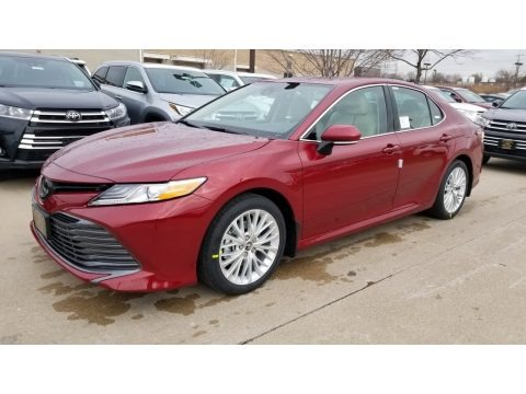 Ruby Flare Pearl 2020 Toyota Camry XLE