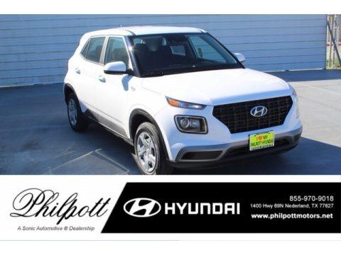 Ceramic White 2020 Hyundai Venue SE