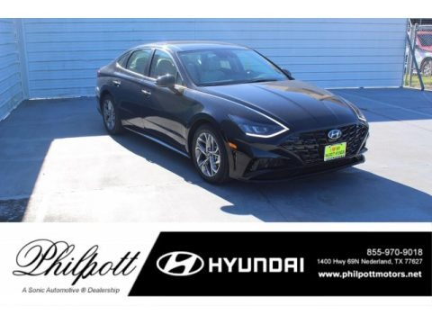 Phantom Black 2020 Hyundai Sonata SEL