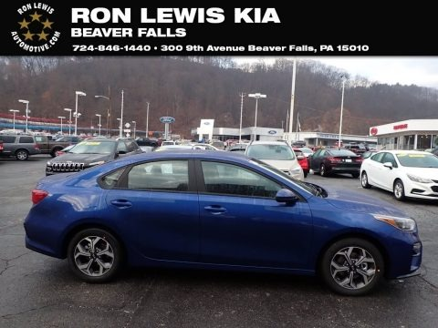 Deep Sea Blue 2020 Kia Forte LXS