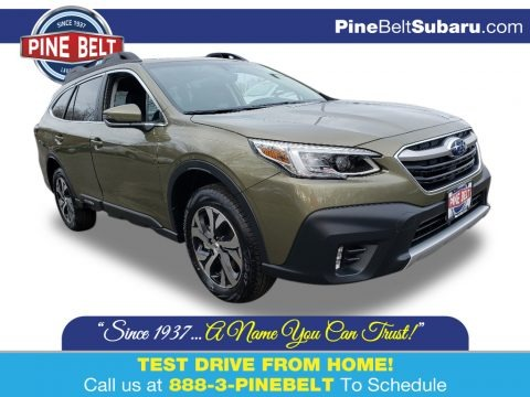 Autumn Green Metallic 2020 Subaru Outback 2.5i Limited