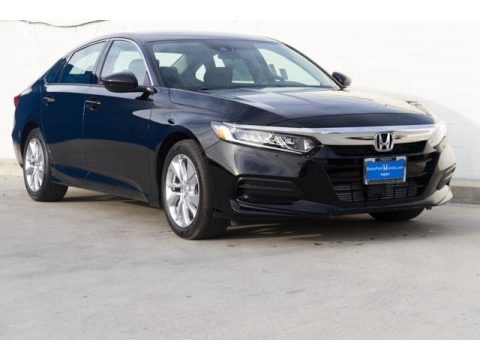 Crystal Black Pearl 2020 Honda Accord LX Sedan