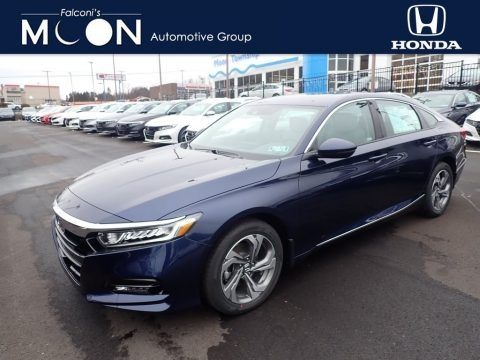 Obsidian Blue Pearl 2020 Honda Accord EX-L Sedan