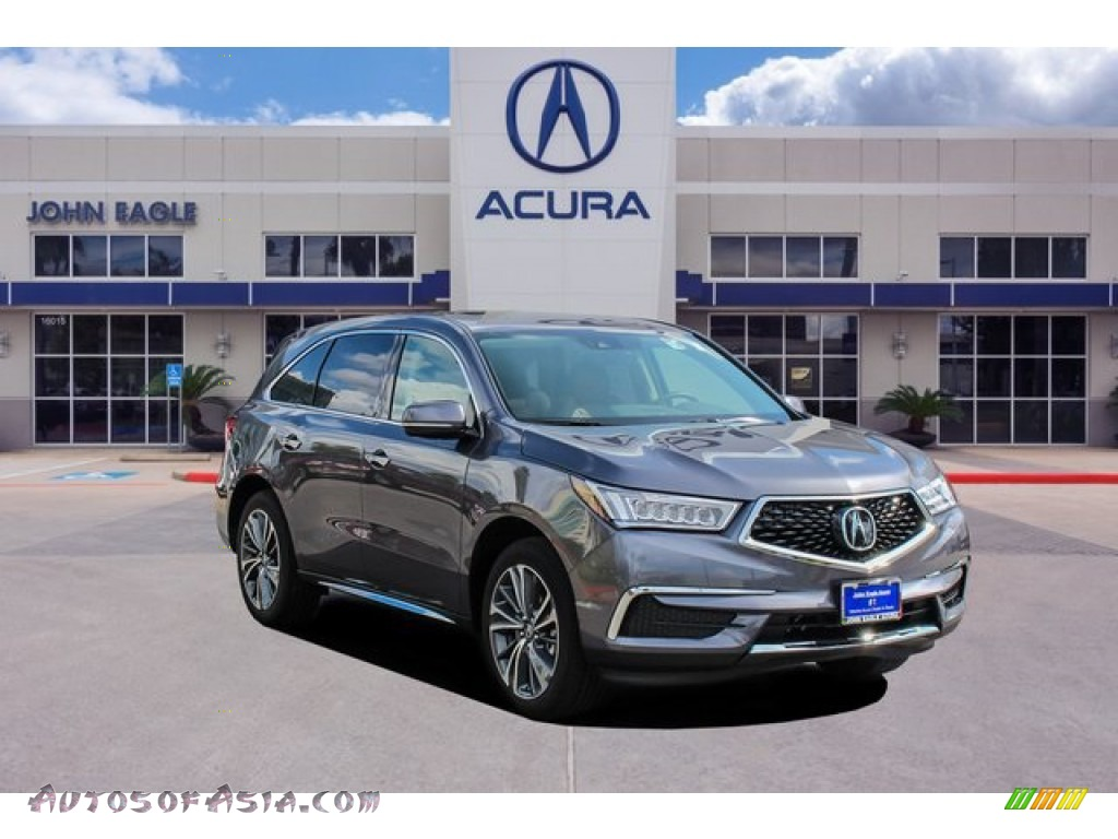 2020 MDX Technology AWD - Modern Steel Metallic / Red photo #1