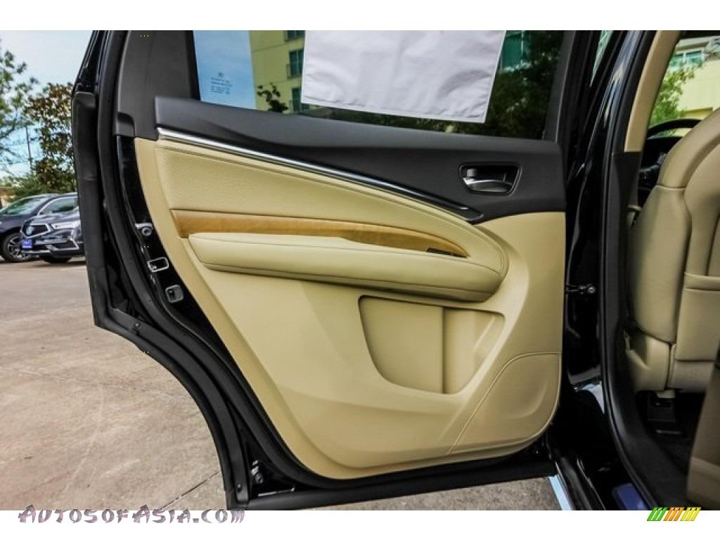 2020 MDX Technology AWD - Majestic Black Pearl / Parchment photo #17