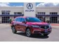 Acura MDX Technology Performance Red Pearl photo #1