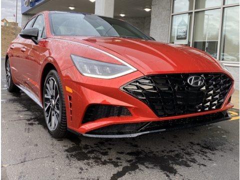 Calypso Red 2020 Hyundai Sonata SEL