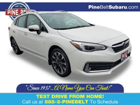 Crystal White Pearl 2020 Subaru Impreza Limited 5-Door