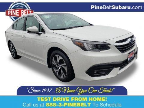 Crystal White Pearl 2020 Subaru Legacy 2.5i Premium