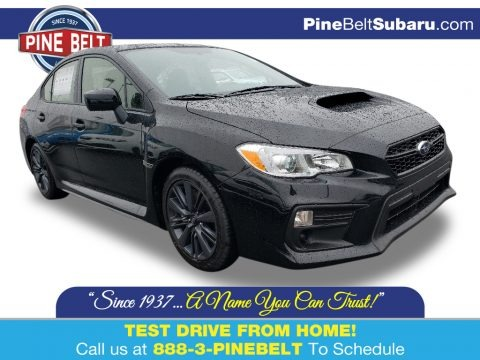 Crystal Black Silica 2020 Subaru WRX