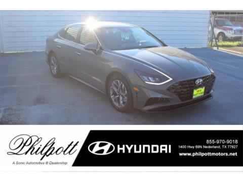 Hampton Gray 2020 Hyundai Sonata SEL