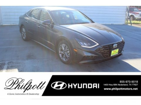 Portofino Gray 2020 Hyundai Sonata SEL