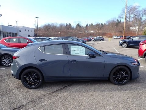 Polymetal Gray Metallic 2020 Mazda MAZDA3 Premium Hatchback AWD