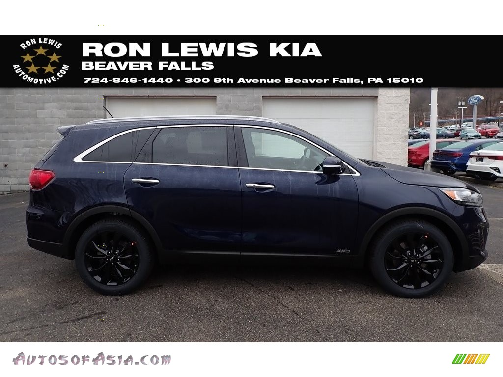 Imperial Blue / Black Kia Sorento EX AWD