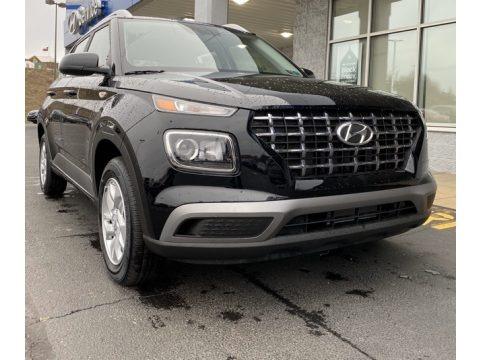 Black Noir Pearl 2020 Hyundai Venue SEL