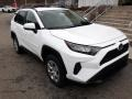 Toyota RAV4 LE AWD Super White photo #1