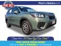 Subaru Forester 2.5i Premium Jasper Green Metallic photo #1