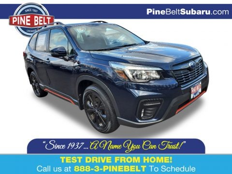 Dark Blue Pearl 2020 Subaru Forester 2.5i Sport