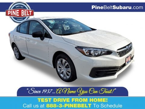 Crystal White Pearl 2020 Subaru Impreza Sedan