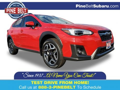 Pure Red 2020 Subaru Crosstrek 2.0 Limited