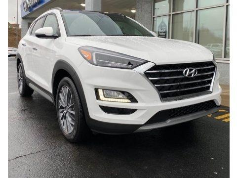 Winter White 2020 Hyundai Tucson Ultimate AWD