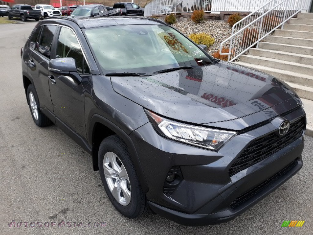2020 RAV4 XLE AWD - Magnetic Gray Metallic / Black photo #1