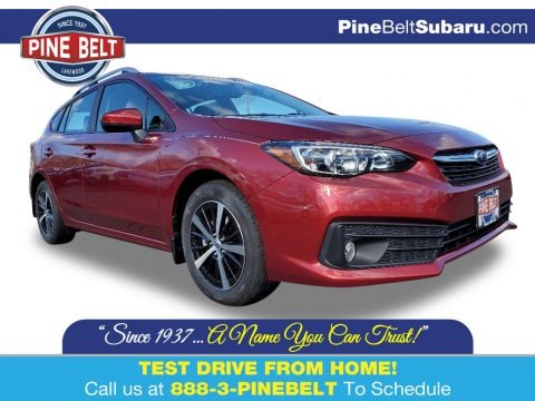 Crimson Red Pearl 2020 Subaru Impreza Premium 5-Door
