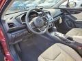 Subaru Impreza Premium 5-Door Crimson Red Pearl photo #7