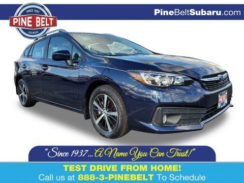 Dark Blue Pearl 2020 Subaru Impreza Premium 5-Door