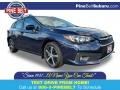 Subaru Impreza Premium 5-Door Dark Blue Pearl photo #1