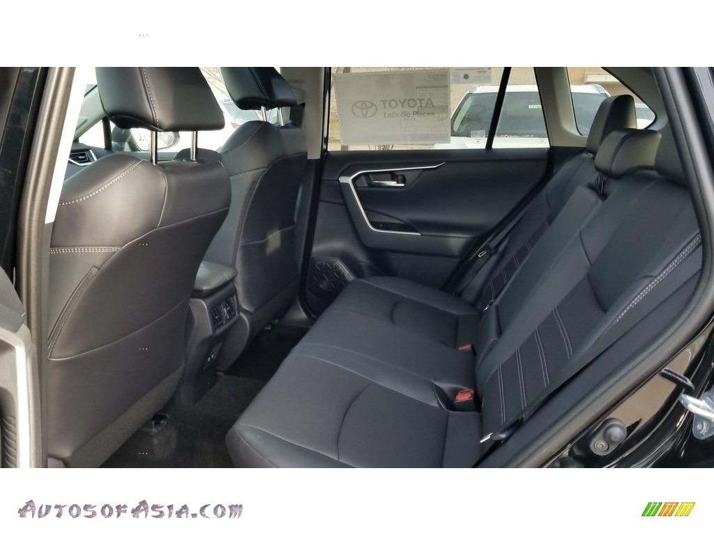 2020 RAV4 Limited AWD Hybrid - Midnight Black Metallic / Black photo #3