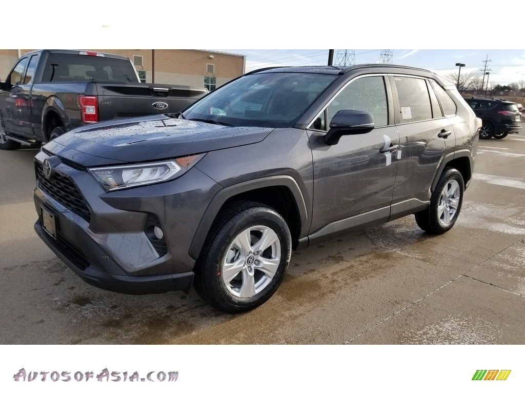 Magnetic Gray Metallic / Black Toyota RAV4 XLE AWD