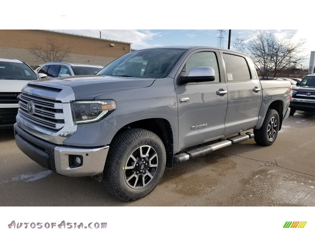 2020 Tundra Limited CrewMax 4x4 - Cement / Black photo #1