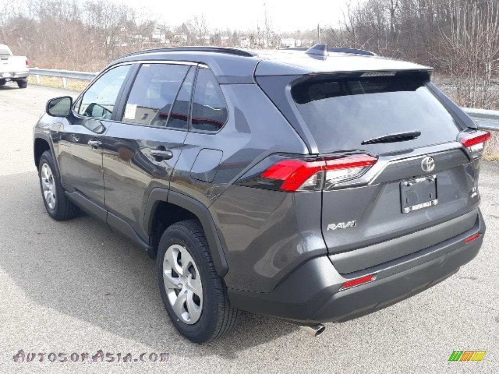 2020 RAV4 LE AWD - Magnetic Gray Metallic / Black photo #2