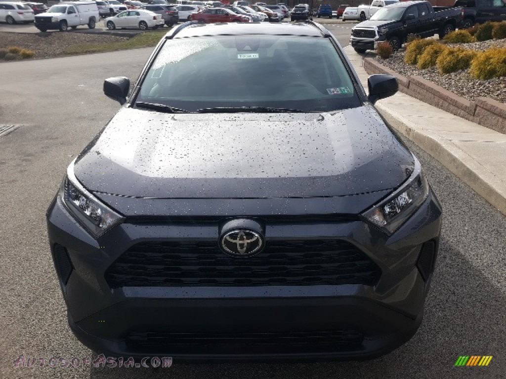 2020 RAV4 LE AWD - Magnetic Gray Metallic / Black photo #37