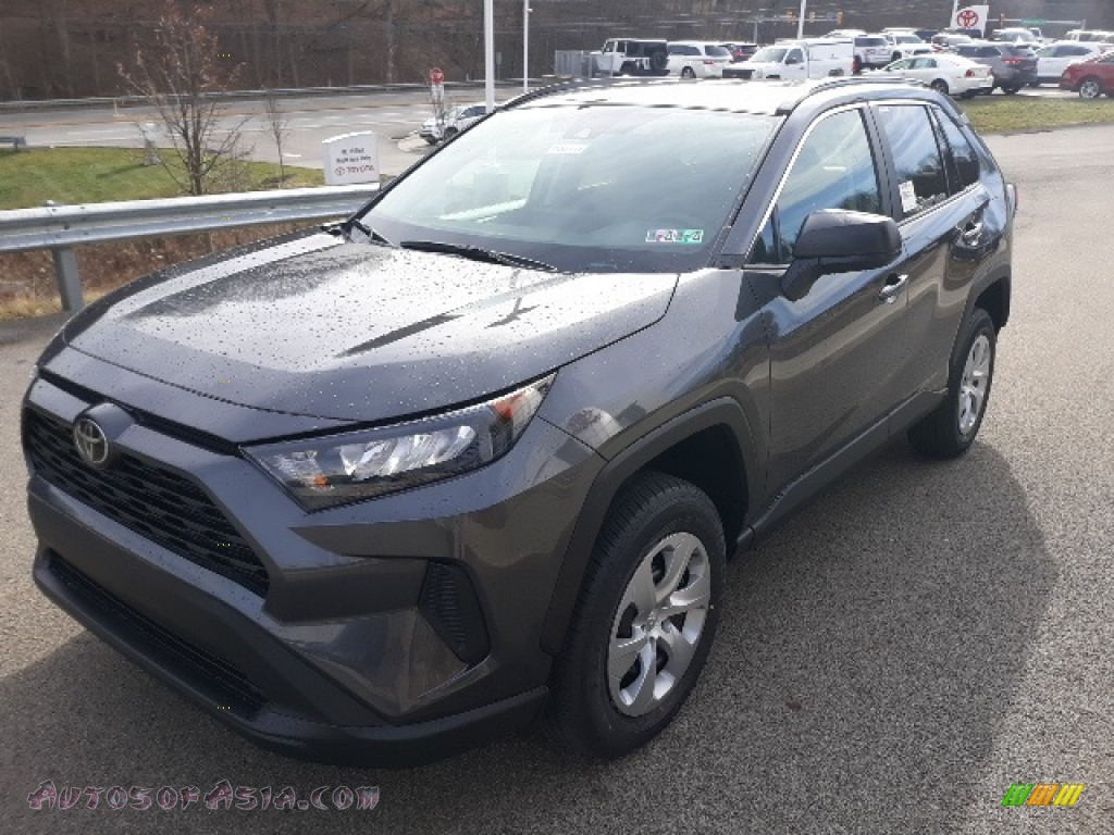 2020 RAV4 LE AWD - Magnetic Gray Metallic / Black photo #38