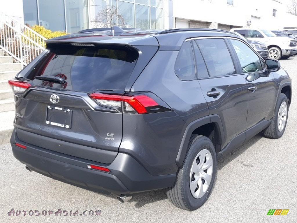 2020 RAV4 LE AWD - Magnetic Gray Metallic / Black photo #39