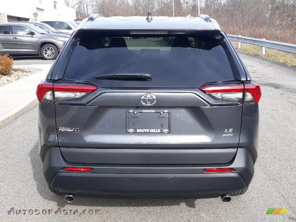 2020 RAV4 LE AWD - Magnetic Gray Metallic / Black photo #40