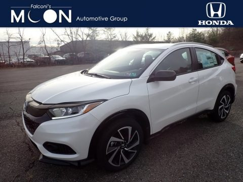 Platinum White Pearl 2020 Honda HR-V Sport AWD