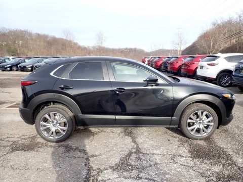 Jet Black Mica 2020 Mazda CX-30 Select AWD