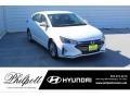 Hyundai Elantra SEL Quartz White Pearl photo #1