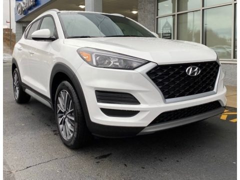 Winter White 2020 Hyundai Tucson SEL AWD