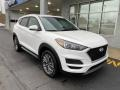 Hyundai Tucson SEL AWD Winter White photo #2