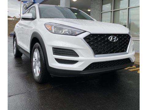 Cream White Pearl 2020 Hyundai Tucson Value AWD