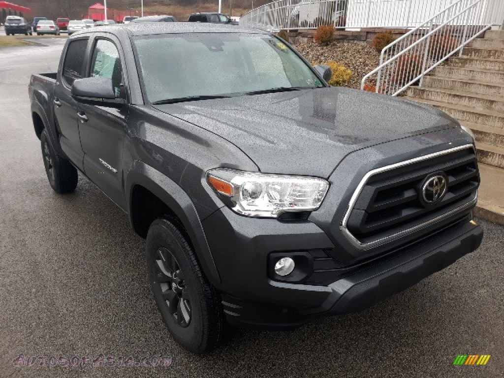 2020 Tacoma SR5 Double Cab 4x4 - Magnetic Gray Metallic / Cement photo #1