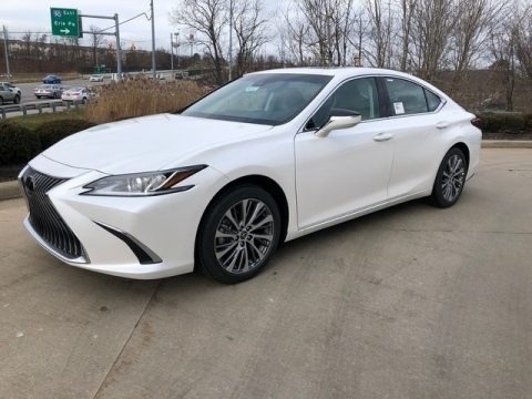 Eminent White Pearl 2020 Lexus ES 350